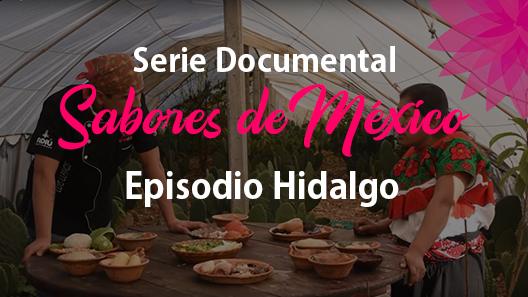 Episodio 26 Hidalgo, Serie Documental Sabores de México