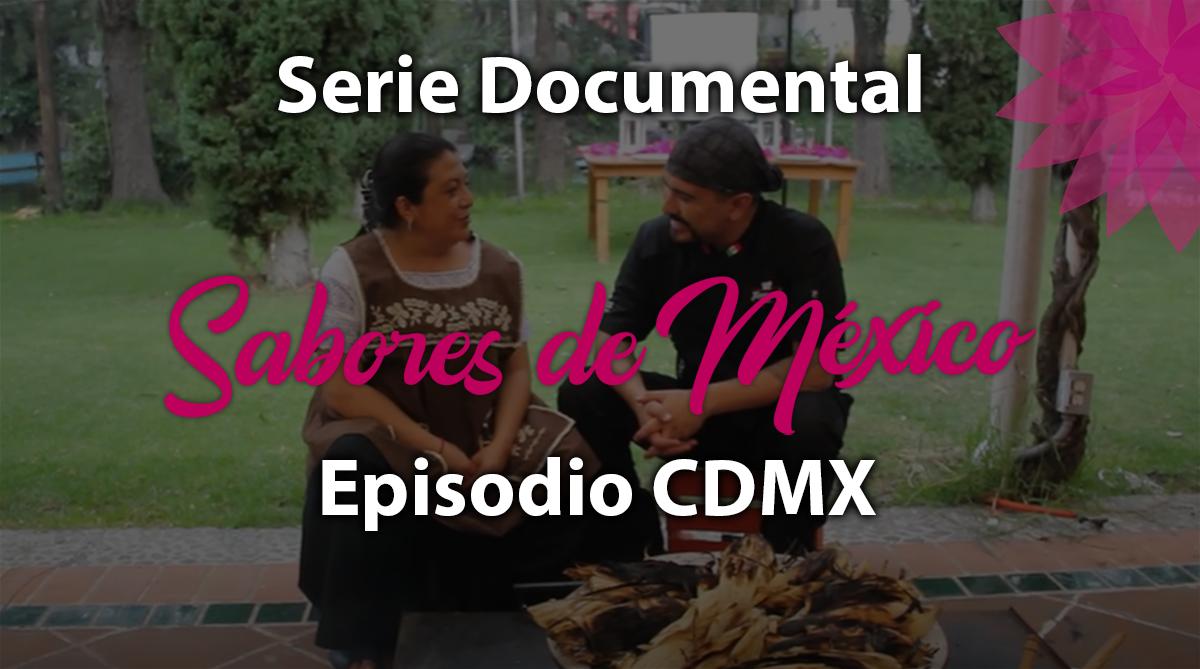 Episodio 28 CDMX, Serie Documental Sabores de México